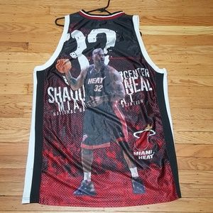 RARE Miami Heat Shaquille O'Neal Shaq Photo